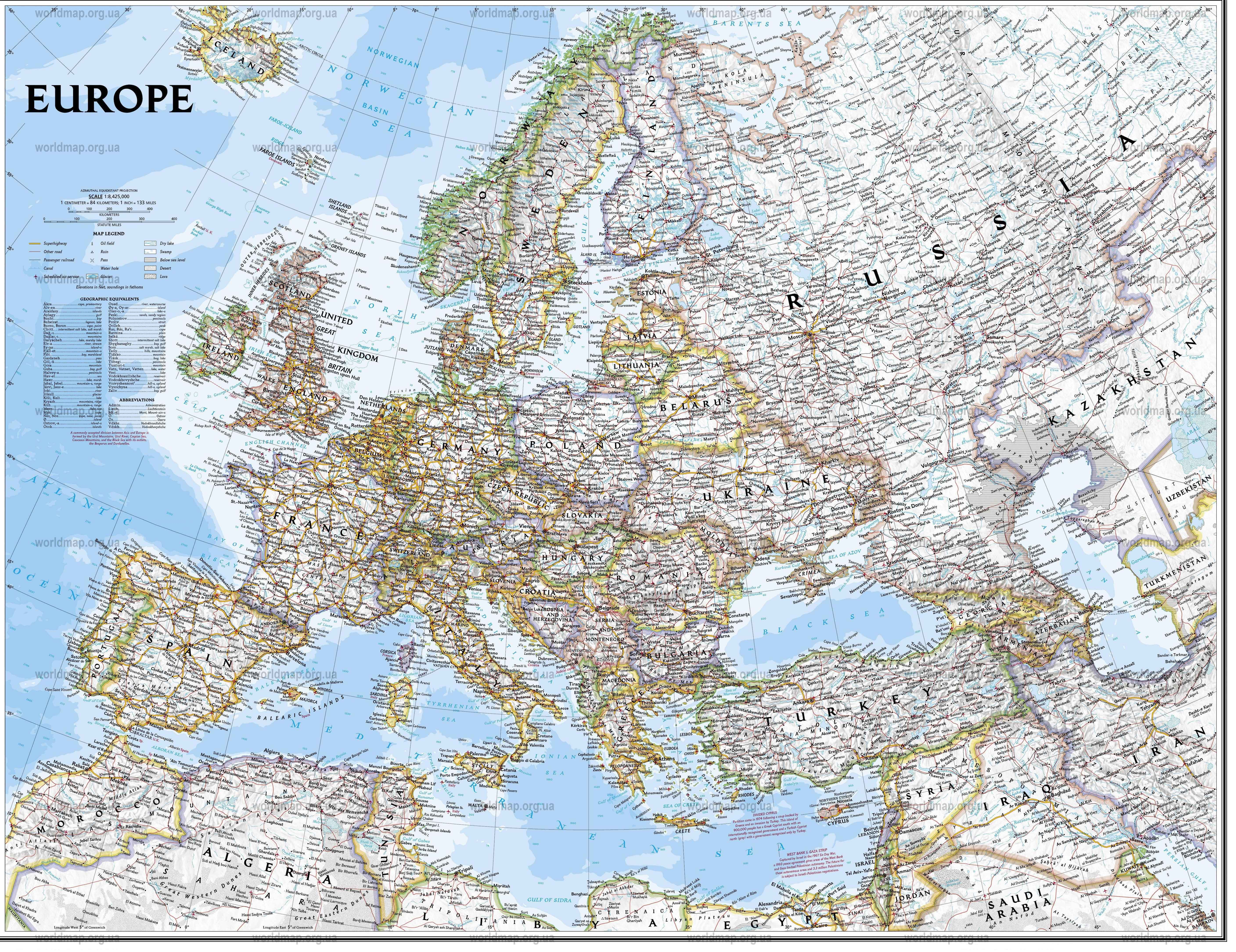 Europe Map Detailed Europe Free Download Images World Maps Us Map Of Europe